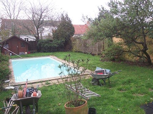 Création de jardins à Nantes